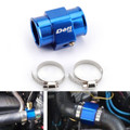 40mm Water Temp Joint Pipe Temperature Gauge Radiator Adapter Hose Sensor Blue