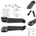 Front Foot Peg Footrest For Yamaha YZF R1 98-14 YZF R6 99-14 YZF R6S 03-08 Black