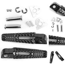 Rear Foot Peg Footrest For Suzuki GSXR600 GSXR750 06-14 GSXR1000 05-14 Black