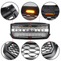 LED Front Grille For Chevrolet Silverado 1500 2016 2017 2018 Black