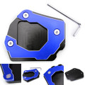 Sidestand Plate Kickstand Extension Pad CNC Aluminium For BMW F800GS 08-16 Blue