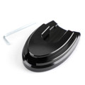 Sidestand Plate Kickstand Extension Pad CNC For HONDA PCX 125/150 18-19 Black