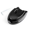 Sidestand Plate Kickstand Extension Pad CNC For HONDA PCX 125/150 18-19 Black