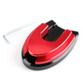 Sidestand Plate Kickstand Extension Pad CNC For HONDA PCX 125/150 18-19 Red