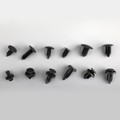330PCS Car Bumper Push Rivet Fastener Clip Retainers Assortment For Ford Toyota