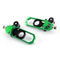 Chain Adjusters Tensioners For Kawasaki ZX10R 2011-2016 Green