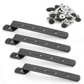Universal Hard Saddlebag Heavy Duty Mounting Brackets Kit For Harley Cruiser