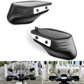 "Universal 8/10mm Bolt 7/8"" Handlebar Hand Guard Protector Cover Black"