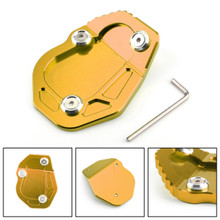 Kickstand Side Stand Enlarger Plate Pad For BMW R NINE T 2017 Gold