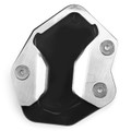 CNC Kickstand Side Stand Plate Extension Pad  For TRIUMPH TIGER800 XR XCA XRX XRT 2017-2018 Black