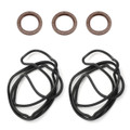 OEM Valve Cover Gaskets W/Crank And Cam Seals For LEXUS GS300 98-05 IS300 01-05 SC300 98-00 SUPRA 97-98 (NON TURBO MODEL)