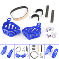 Brake Fluid Clutch Reservoir Guard F&R For BMW R1200GS LC R1200GS LC ADV 14-17 R NINET 14-16 Blue