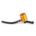 Master Cylinder Fluid Oil Reservoir Universal Front Brake Clutch Tank Gold