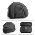 Driver Backrest Cushion Pad For Touring Models Road King Street Glide Road Glide Electra Glide 97-17 Black