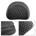 Driver Rider Backrest Cushion Pad For 1997-2017 Touring Models Black