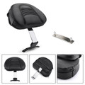 Driver Rider Backrest Kit For Fatboy Heritage Softail Models 07-17 Anniversary FLSTF 08 Chrome