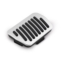 Foot Rest Pedal Pads Fuel Brake Pedal For Mazda Atenza Axela Mazda 3 Mazda 6 Mazda CX5 Mazda CX3 Mazda CX9 Silver