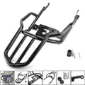 Rear Luggage Rack Carrier Mount Fender Support For Kawasaki Z900RS Z900RS ABS Cafe ABS 2018 Black