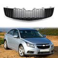 Front Lower Bumper Grille Grill Inserts Trim Covers For Chevrolet Cruze 09-14 Black