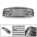 Big Horn Chrome Packaged Grille + Shell For Doge RAM 2500 3500 09-10 Dodge RAM 1500 06-08 Chrome