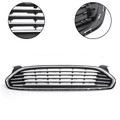Front Bumper Upper Grille Assembly Fits For Fusion 2013-2016 Black