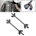 "15""Coil Spring Shock Strut Compressor Remover Installer Suspension Auto Tool Black"
