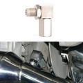 90¡ãO2 Oxygen Sensor Spacer Engine Light Check Bung Mini Catalytic Converter
