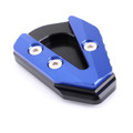 Kickstand Side Stand Plate Extension Enlarger Pad For YAMAHA YZF R6 17-19 Blue