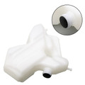 Coolant Radiator Tank Bottle Overflow Reservior For Kawasaki ZZR1400 ZX-14 2012 White