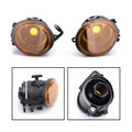 2X Lens Bumper Fog Lights Lamps Kit For BMW E39 M5 99-03 E46 3-Series Sedan E46 M3 Coupe 01-05 Yellow