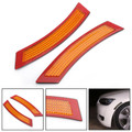 Front Bumper Reflector Side Marker For BMW 3 Series E92 E93 2DR Coupe Convertible 07-13 Amber