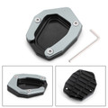 Kickstand Side Stand Extension Enlarger Pad For BMW K1600GT K1600GTL EXCLUSIVE 16-18 K1600B 17-18 Titanium
