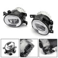 Front Bumper LED Fog Light Kit For Q50 14-18 QX60 QX80 Q70/Q70L/Q70 15-17 Black