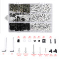 Fairing Bolt Kit Bodywork Screws for Ducati 1098 1198 S 1199 748 749 750 848 900 916 996 998 999 Monster 1100 400 600 695 Multistrada 1000 Streetfighter 848 Silver