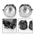 2X Front Bumper Fog Driving Lights For CHRYSLER SEBRING SEDAN 07-09 SEBRING Convertible 08-09 TOWN & COUNTRY 05-09 Clear