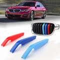 Kidney Grille M Sport 3Colour Cover Stripe Clips For BMW G20 Year 2019-Present with 8 slats on grille