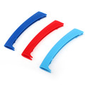 3D M Color Grille Trim Strips Grill Cover Stickers For BMW X5 E53 99-03