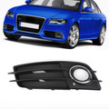 Fog Light Grille Chrome Ring Left For Audi A4 S-LINE S4 08-12 8K0807681C Chrome