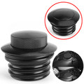 Flush Pop Up Reservoir Gas Cap Vented Fuel Tank Screw For Harley Sportster 1982-2010 Black
