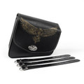 Leather Right side Saddlebag Saddle Bag For Sportster XL 883 XL 1200