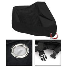 """3XL 104"""" Dust Bike Motorcycle Cover Motorbike Waterproof Rain UV Protector Black"""