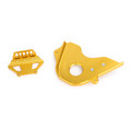 Aluminum Front Sprocket Chain Cover Guard Protector For Honda CB650F 2017-2019 Gold