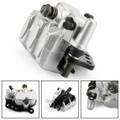 L&R Front Brake Caliper Set 59300-27C20 For For Suzuki 59300-27C20 RM250 89-95 RM125 86-95 RMX250 89-96 DR350SE 90-99 DR250SE 90-95 Silver
