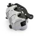L&R Front Brake Caliper Set 59300-27C20 For Yamaha 3SP-2580T-00 3SP-2580T-01 YZ125 90-97 YZ250 90-97 WR250 91-97 Silver