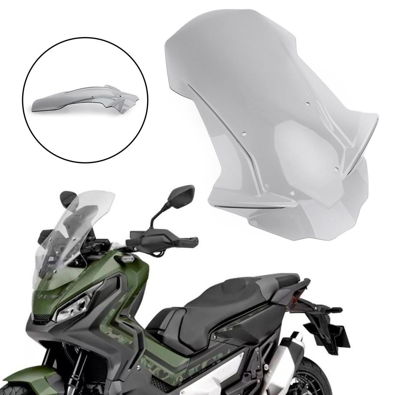 ABS Plastic Motorcycle Windshield Windscreen For Honda X-ADV 750 2017-2019  Grey