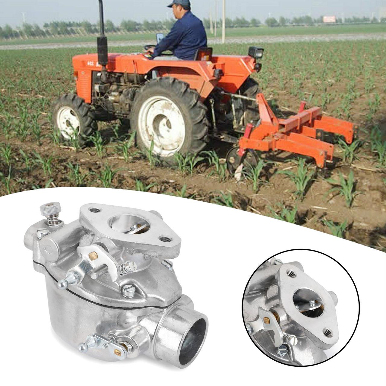 9n Ford Tractor >> 8n9510c Hd Carburetor For Ford Tractor 9n 8n 2n Heavy Duty Tsx 241 A B C Tsx33 Silver