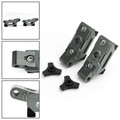CNC Rear Axle Fork Spindle Chain Adjuster Blocks For Kawasaki Ninja 400 2018 Titanium