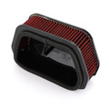Air Filter Cleaner For Yamaha STRYKER V STAR XVS950 XVS1300 XVS13CE 2007-2017 Red