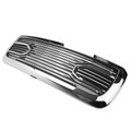 Big Horn Chrome Packaged Grille+Replacement Shell For 10-18 Ram 2500+3500