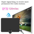 HDTV 4K Antenna 120 Miles High Gain Amplifier Active Indoor Aerial Freeview ATSC